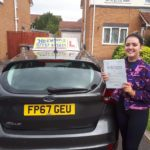Great first time pass Evie !!!